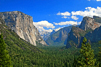Yosemite Tunnel View 2A
